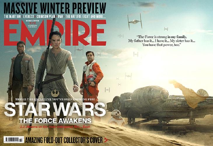 Empire también dedica una portada a los buenos del film