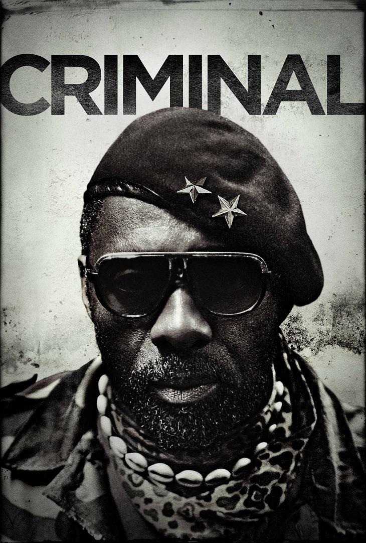 Cartel del film para Idris Elba