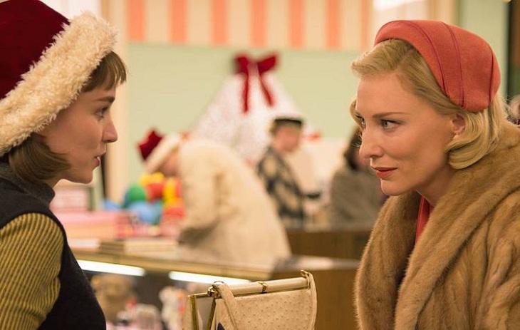 Blanchett y Mara en una imagen de 'Carol'