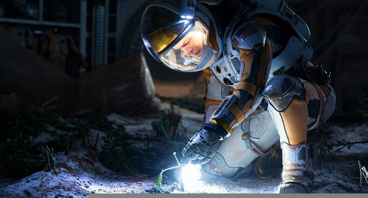 Matt Damon en 'Marte'