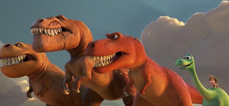 Galería de dinosaurios para el film de Disney