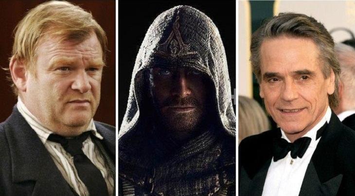 Brendan Gleeson y Jeremy Irons se incorporan a 'Assasin's creed'