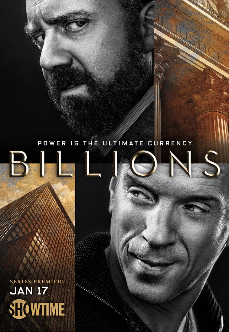 Póster de 'Billions'