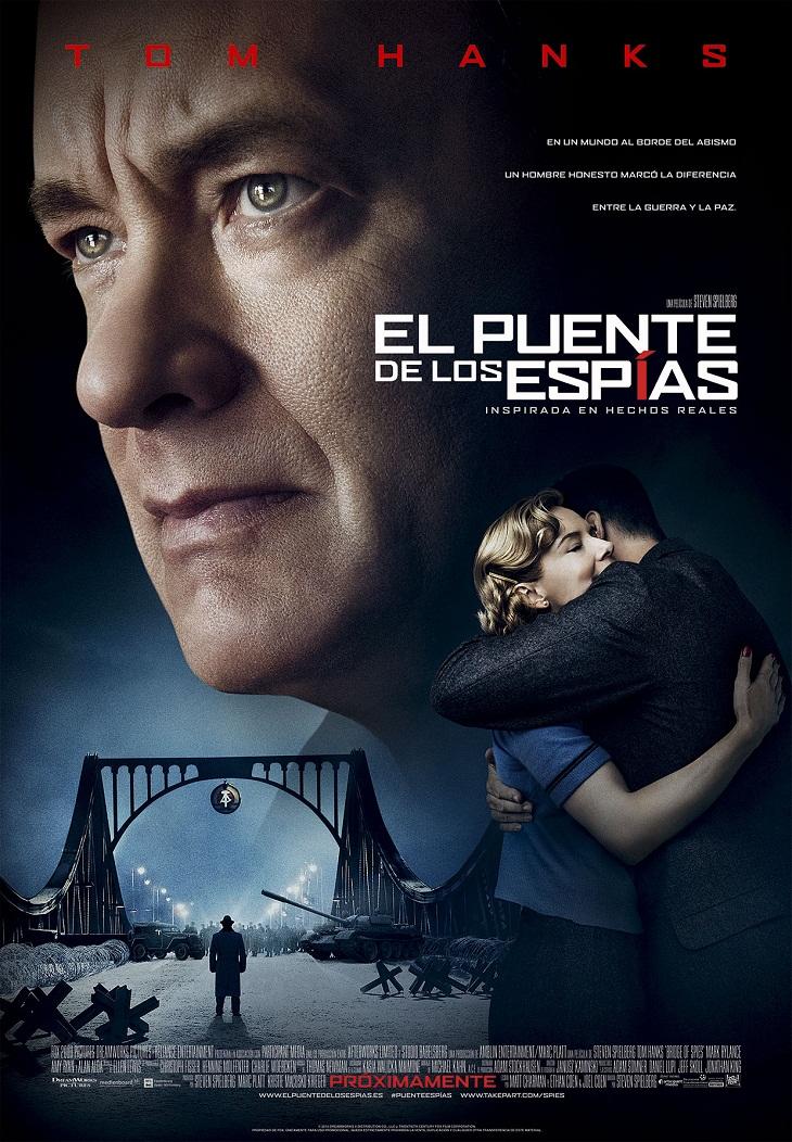 Póster español de 'El puente de los espías'