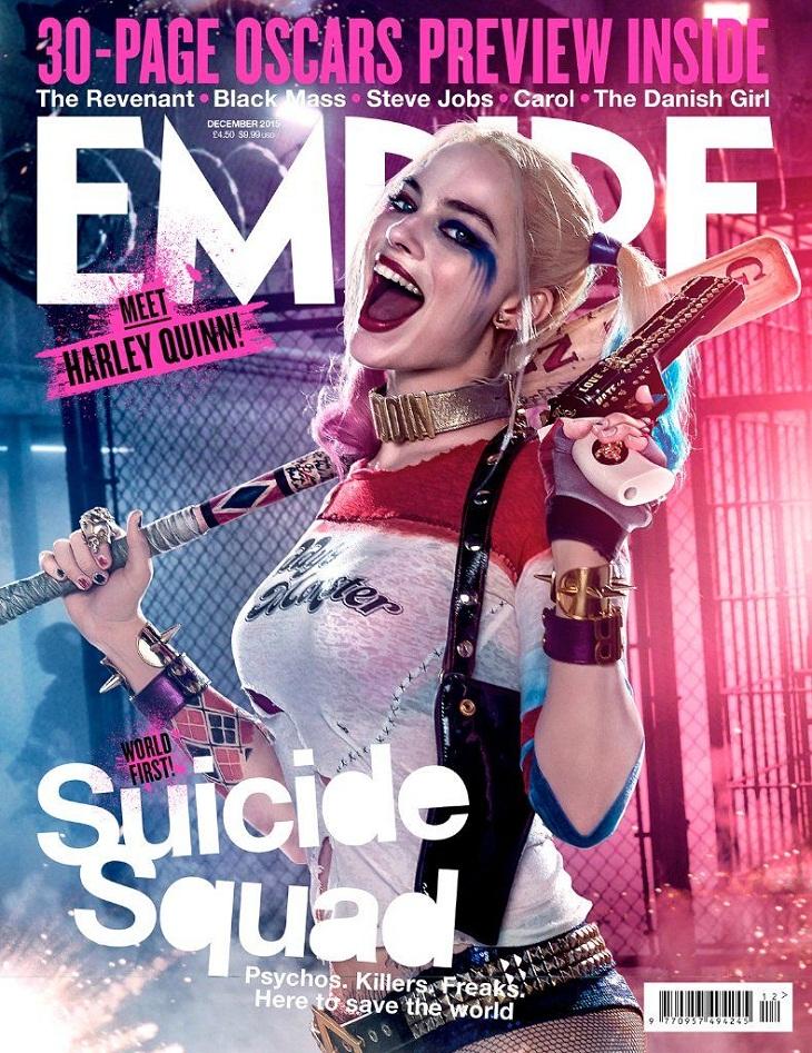 Portada de Empire para Margot Robbie