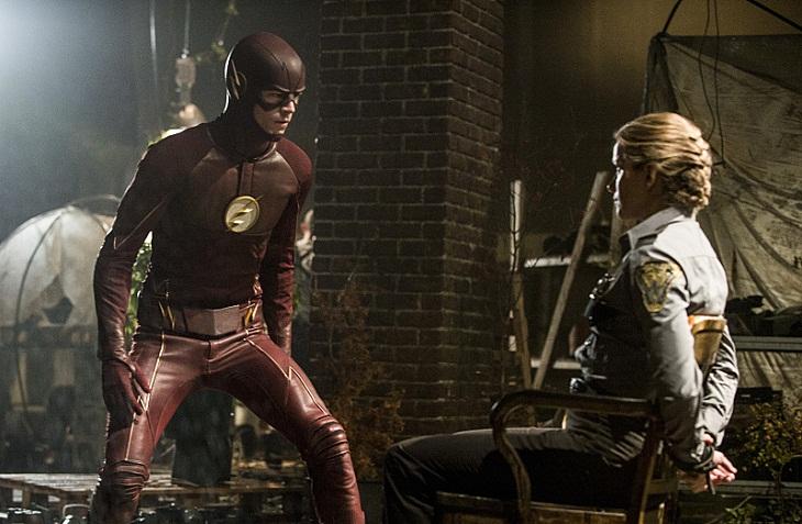 'Flash' en los capítulos de la segunda temporada