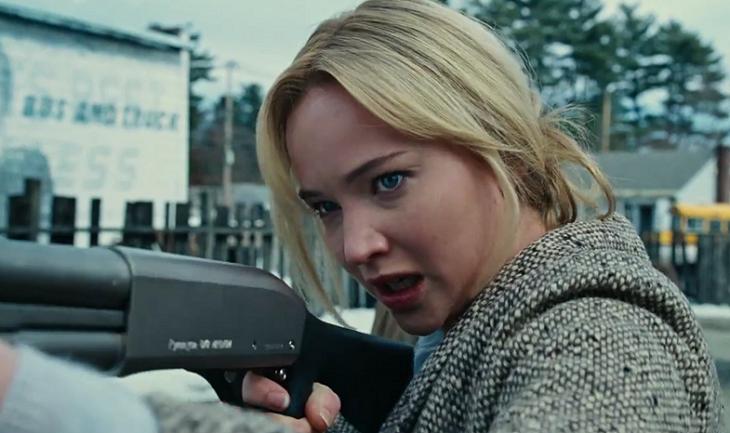 Jennifer Lawrence, de armas tomar en 'Joy'