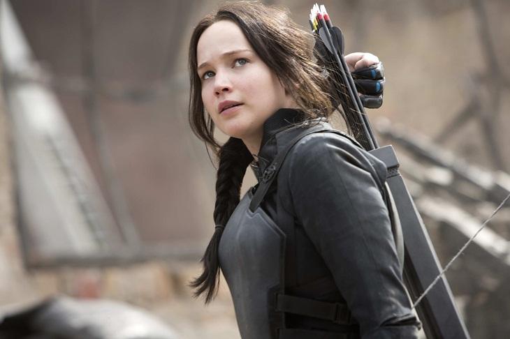 Jennifer Lawrence protagoniza 'Los juegos del hombre: Sinsajo.- Parte 2'