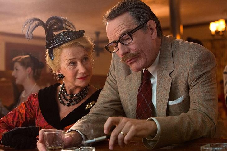 Cranston junto a Helen Mirren en 'Trumbo'