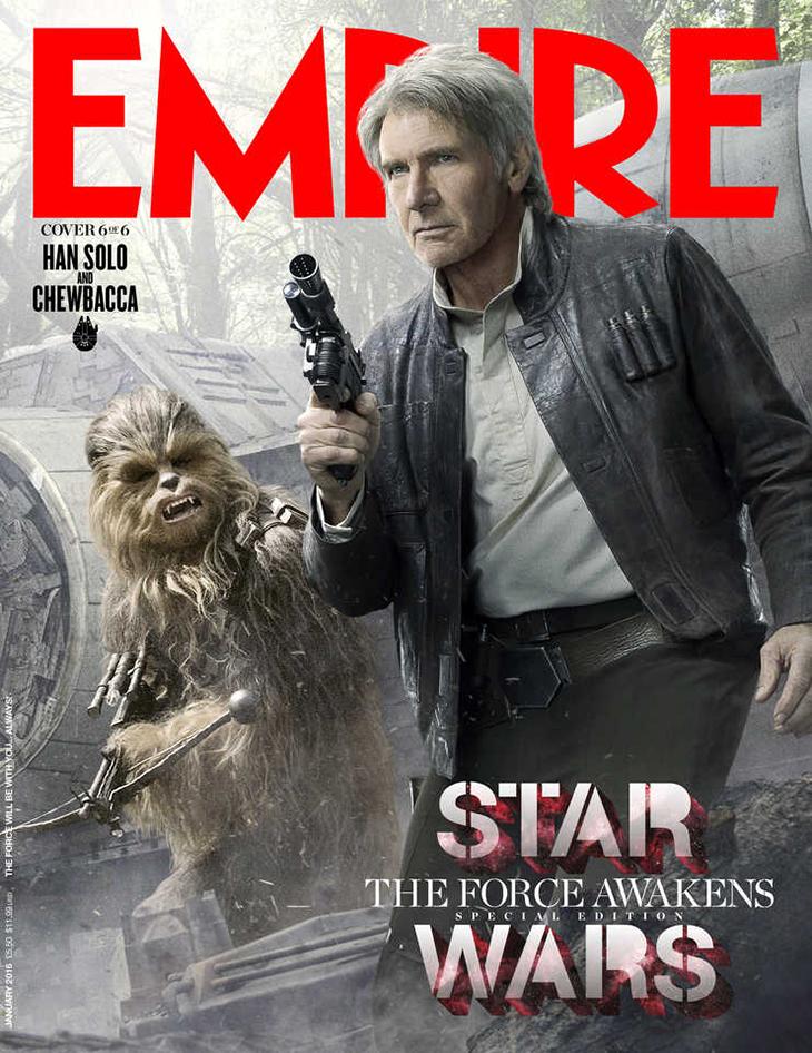 Star Wars: El despertar de la Fuerza Han y Chewie