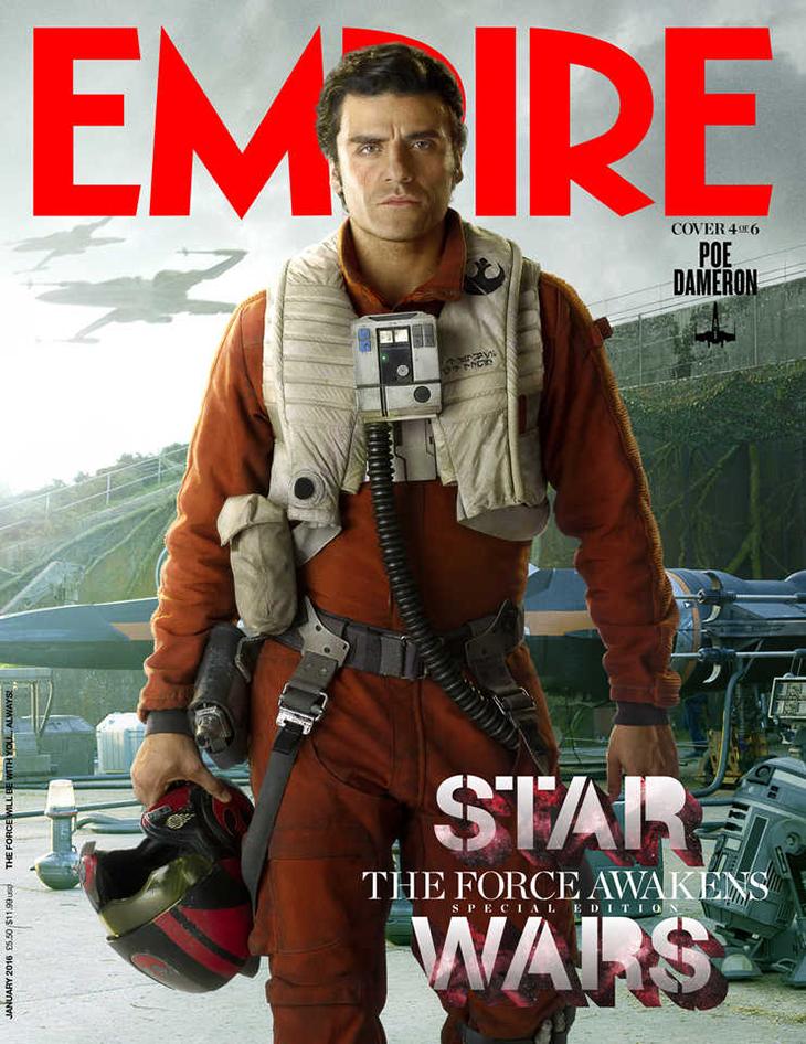 Star Wars: El despertar de la Fuerza Poe Dameron