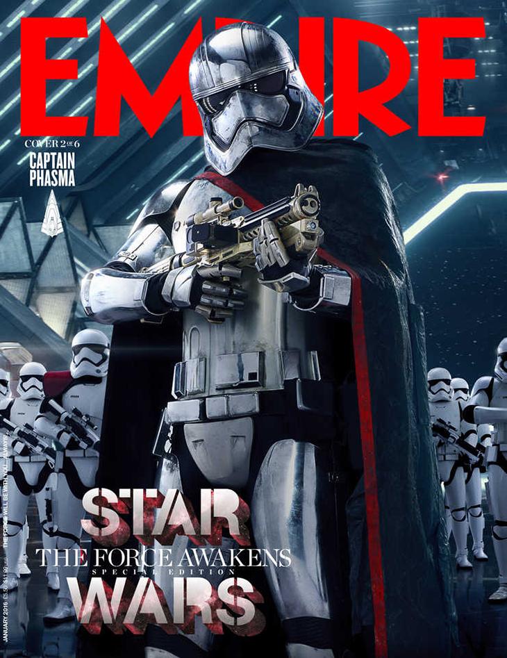 Star Wars: El despertar de la Fuerza Capitana Phasma