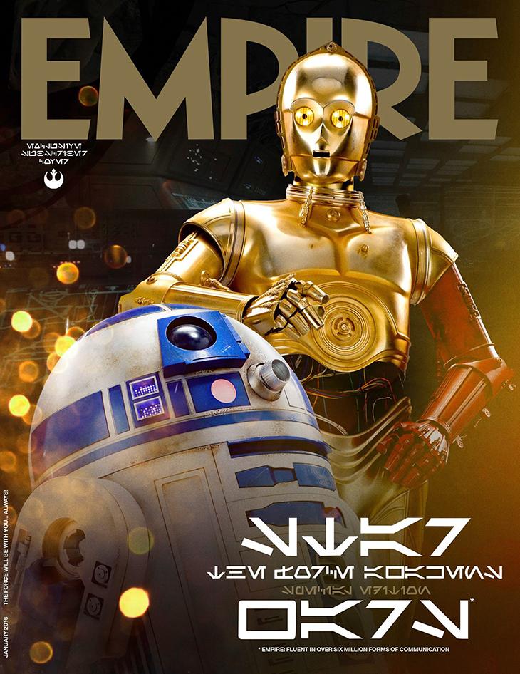 Star Wars: El despertar de la Fuerza R2d2 y c3po