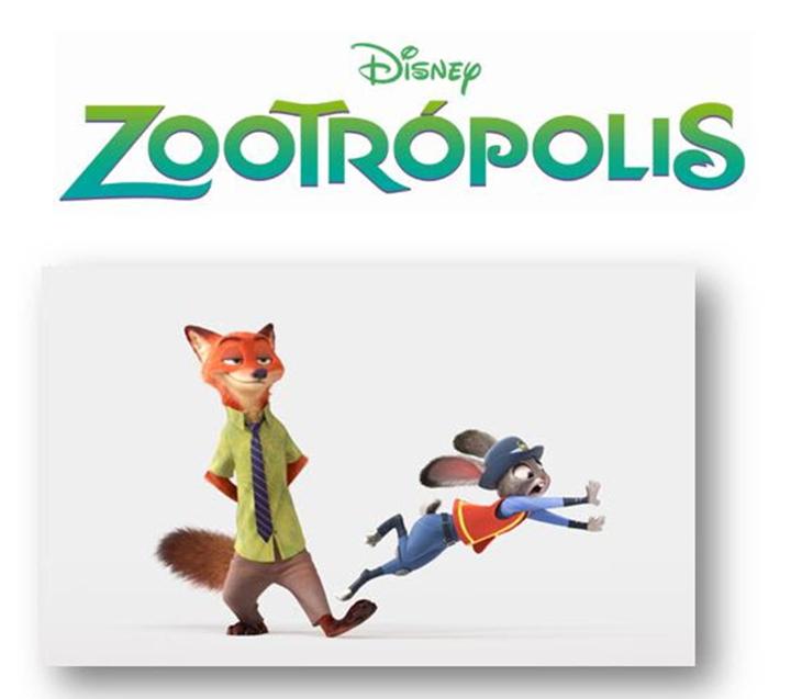 Una imagen de Zootrópolis