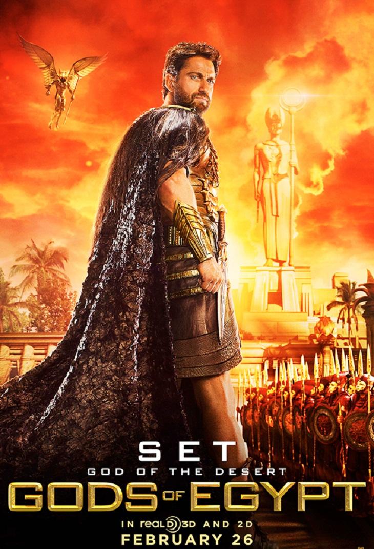 Gerard Butler será el temible Set en 'Gods of Egypt'