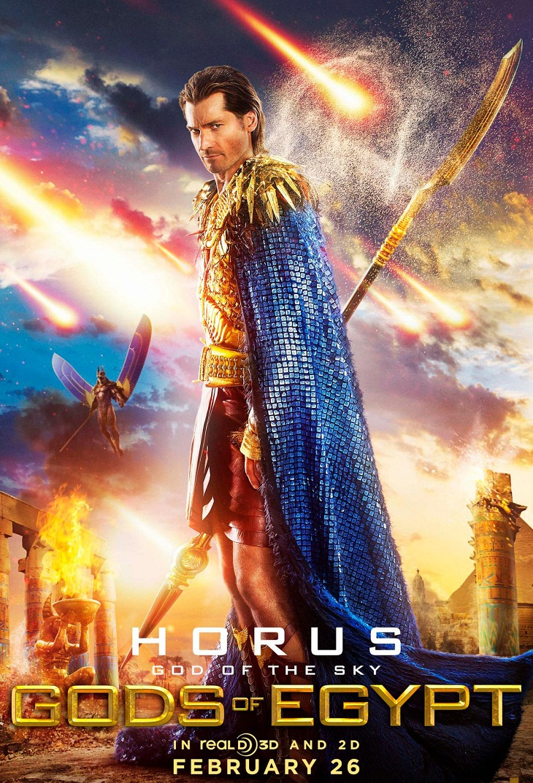 Nikolaj Coster-Waldau tiene su póster como Horus