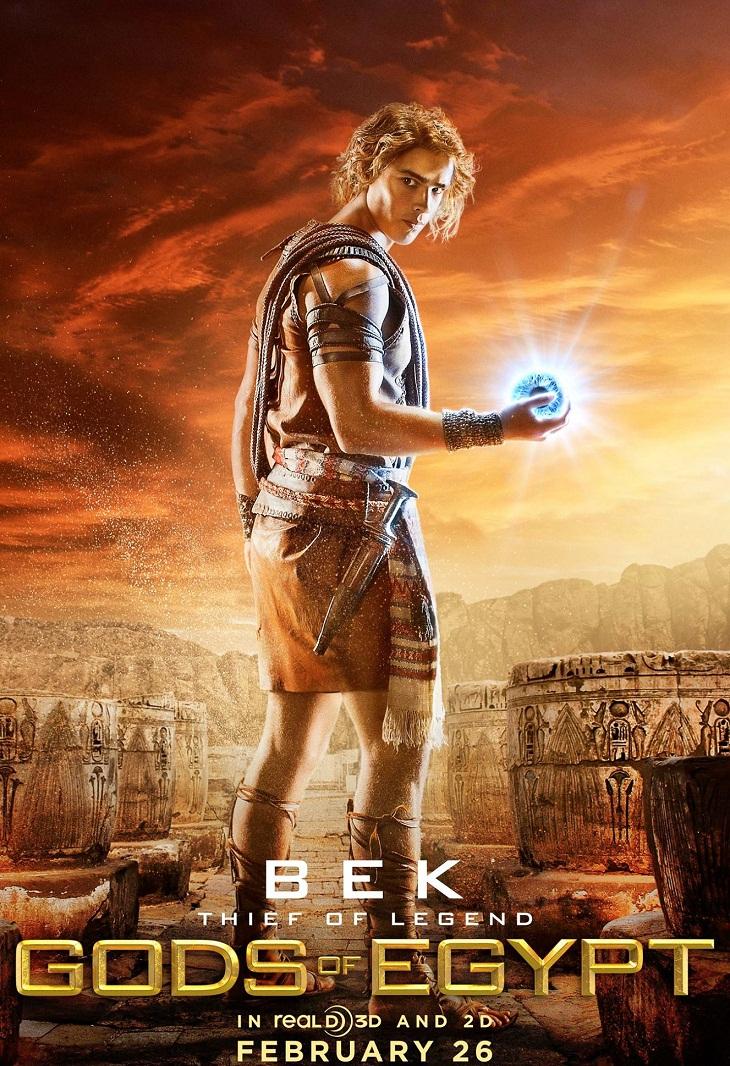 Cartel para el heroico Bek