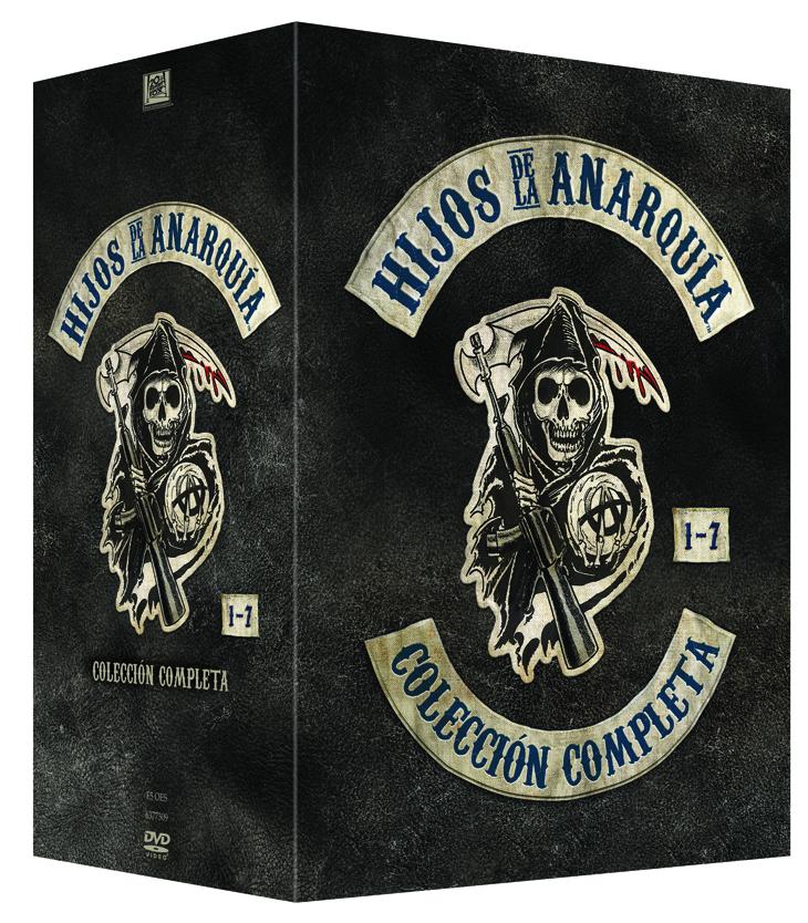 HIJOS DE LA ANARQUÍA (SONS OF ANARCHY) Pack completo