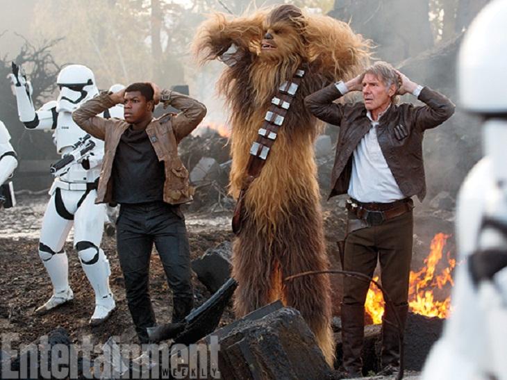 Fantástico trío para la nueva 'Star Wars'