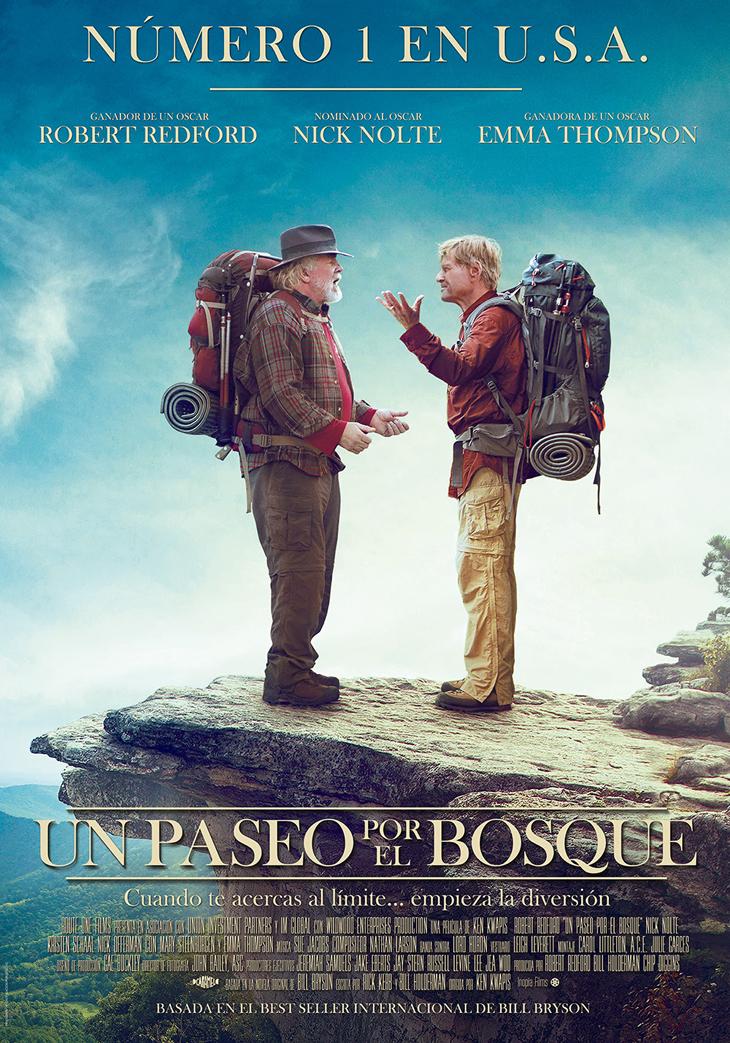'Un paseo por el bosque' La triunfadora en Sundance y numero 1 en EE.UU. Llega por fin a España