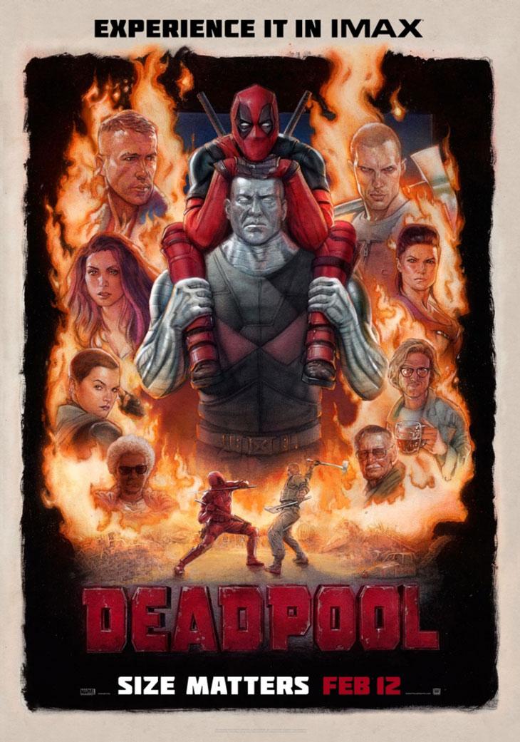 Póster IMAX de Deadpool