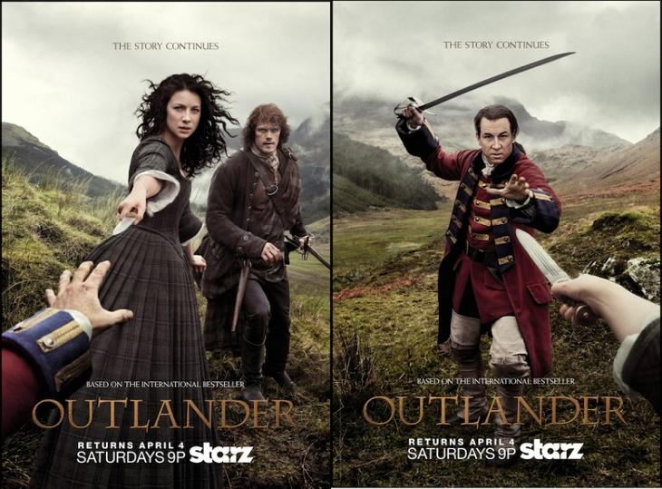 Pósteres de Outlander
