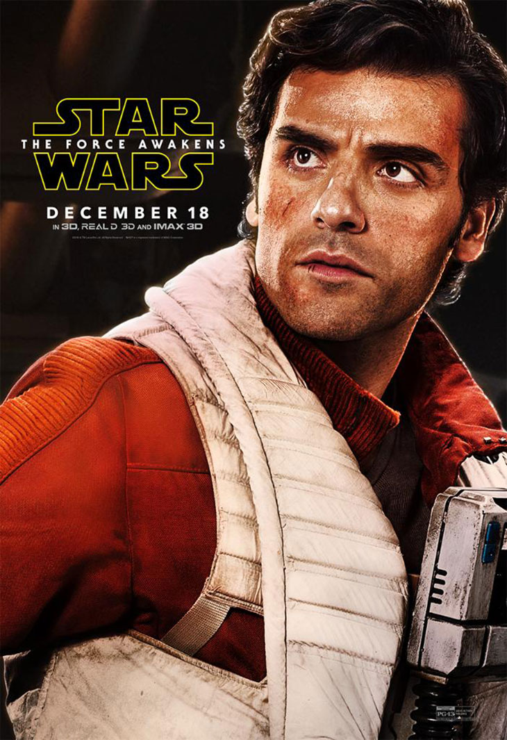 Póster de Poe Dameron en Star Wars