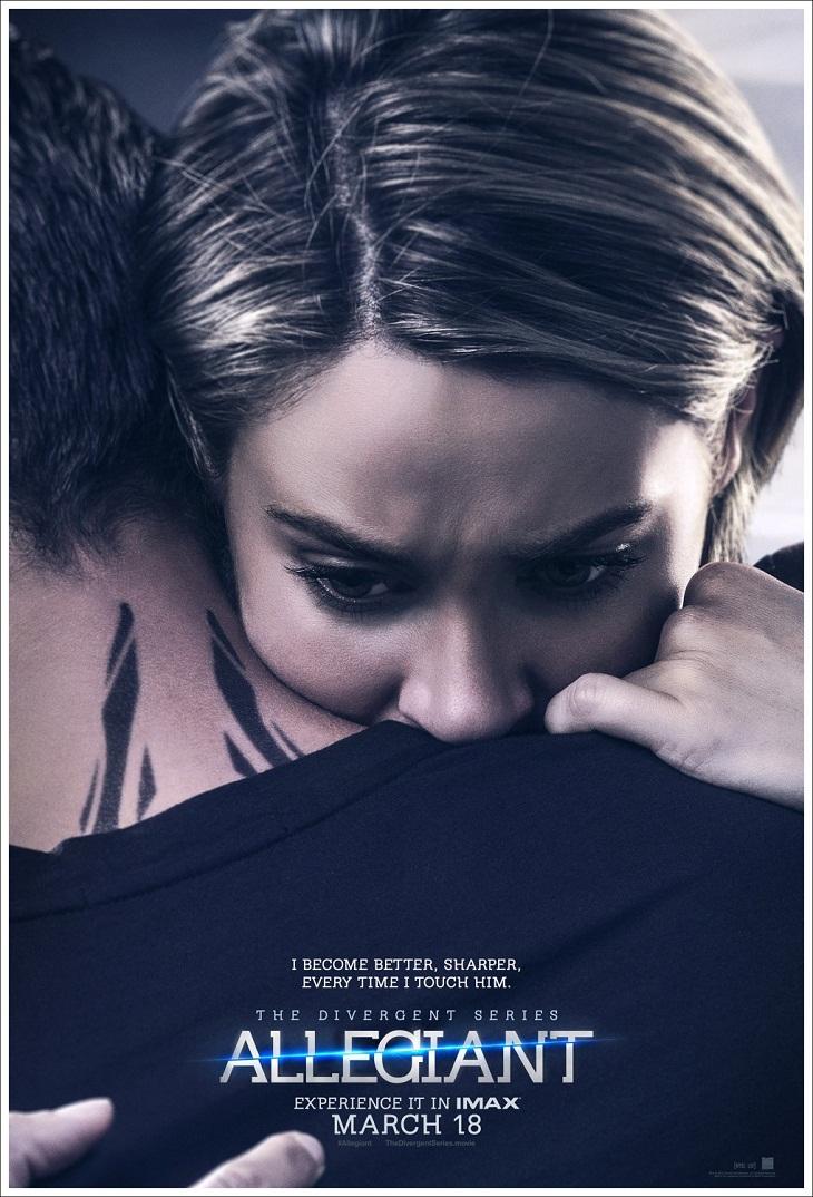 Póster de Tris para 'La serie Divergente: Leal'