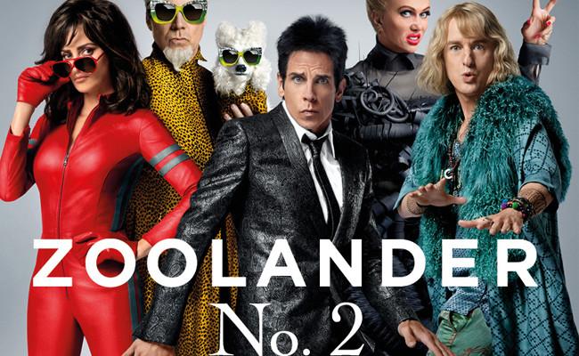 Derek Zoolander regresa por fin el 12 de Febrero de 2016 con todo un gran equipo como podéis ver en el poster definitivo