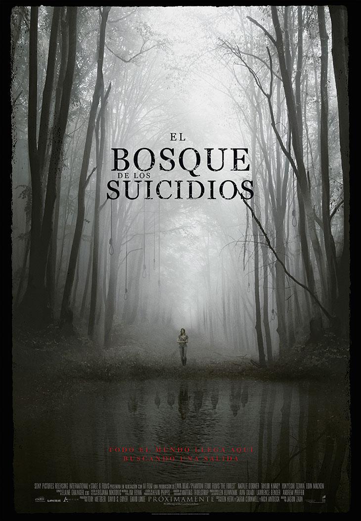 Póster de El Bosque de los Suicidios