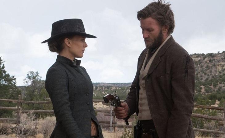 Portman y Edgerton en 'Jane got a gun'