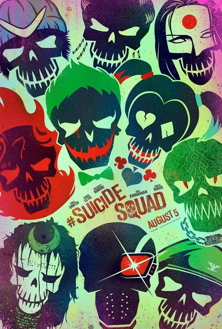 Teaser poster de 'Suicide Squad'