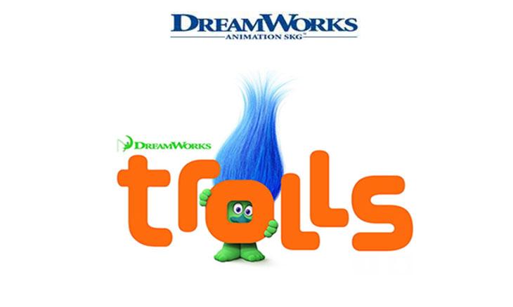 Una imagen promocional de Trolls