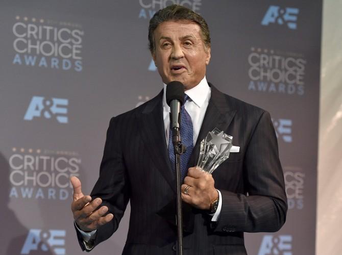Sylvester Stallone, de nuevo premiado por 'Creed'
