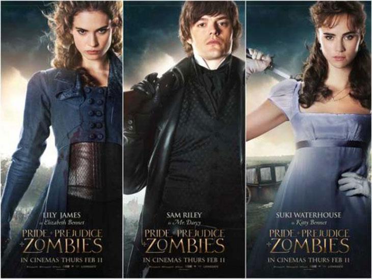 Nuevas promos y pósteres de 'Orgullo y prejuicio y zombis'