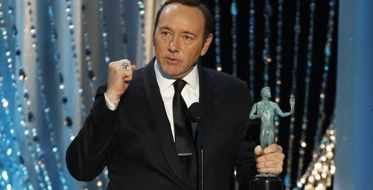 Kevin Spacey, mejor protagonista de serie dramática por 'House of cards'