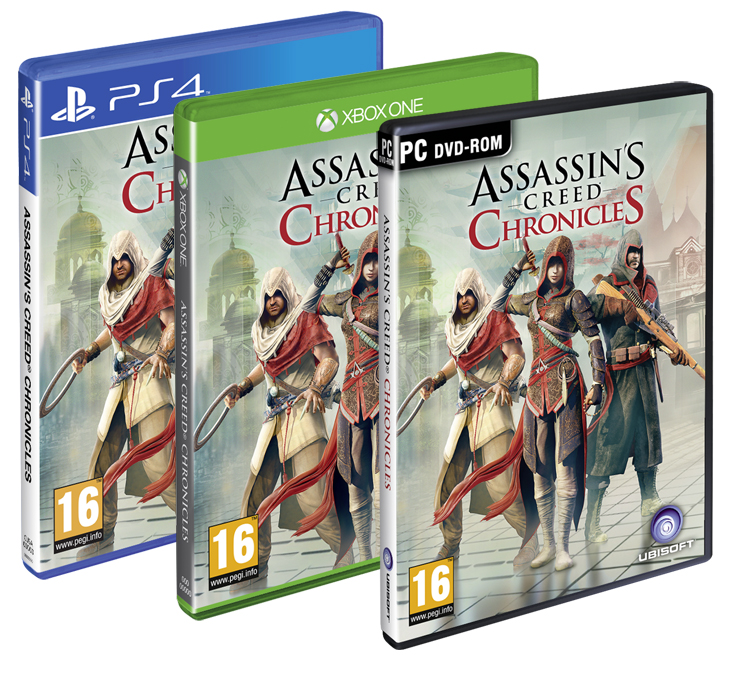 Trilogía de 'Assassin's Creed Chronicles'