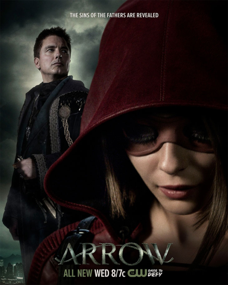 Póster de Arrow Sins of the Father
