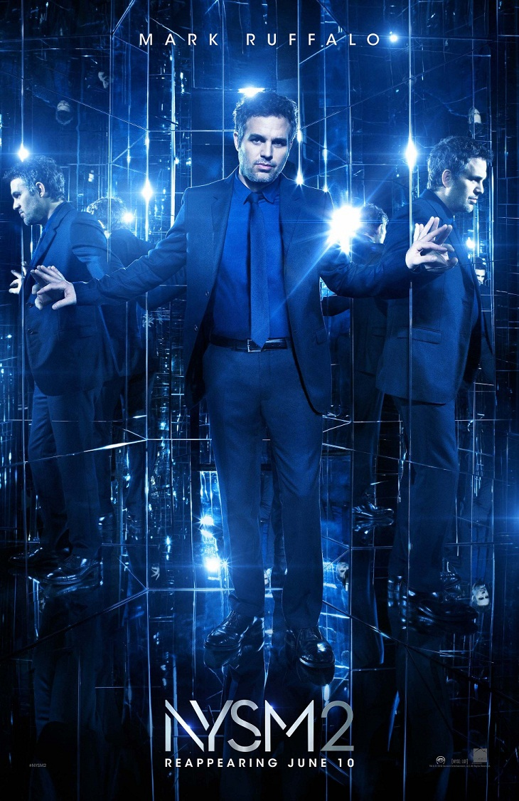 Mark Ruffalo también tiene cartel de 'Ahora me ves 2'