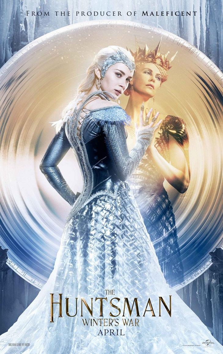 Emily Blunt y Charlize Theron, villanas de la función