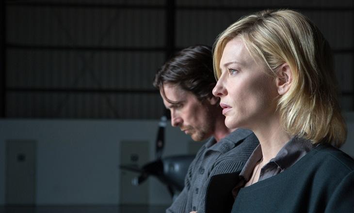 Bale y Blanchett en 'Knight of Cups'