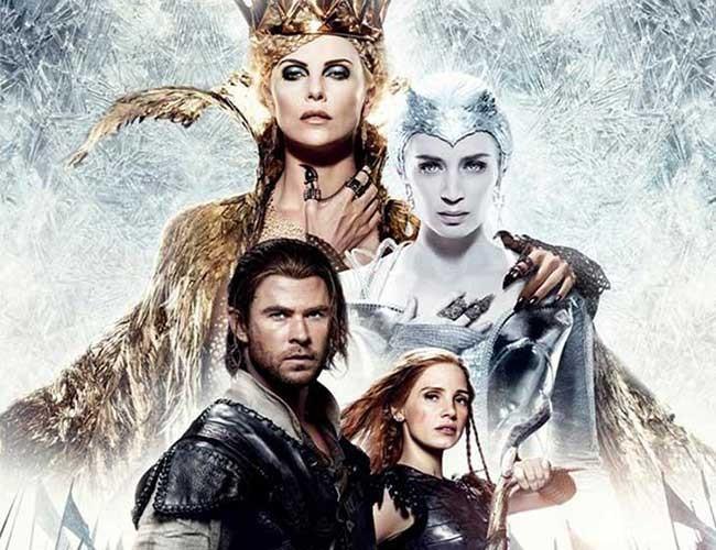 el cazador y la reina de hielo destacada