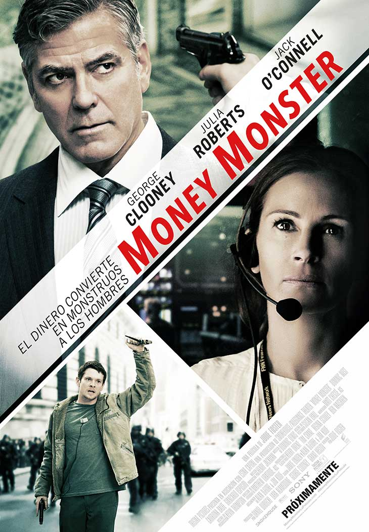Póster en español de Money Monster