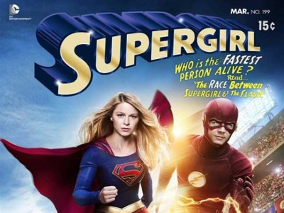 Crossover de The Flash y Supergirl destacada