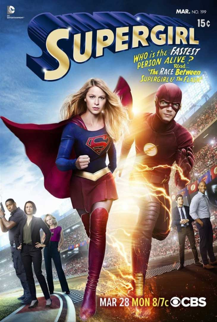 Crossover de The Flash y Supergirl