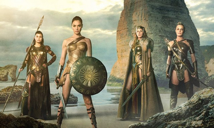 Las Amazonas de Wonder Woman