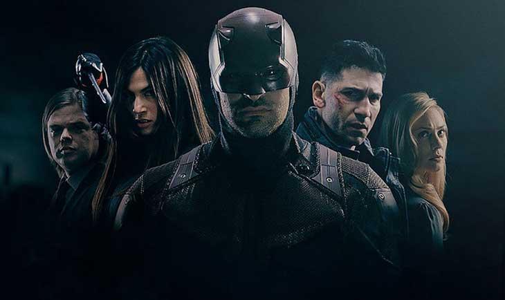 Una imagen de la segunda temporada de Daredevil