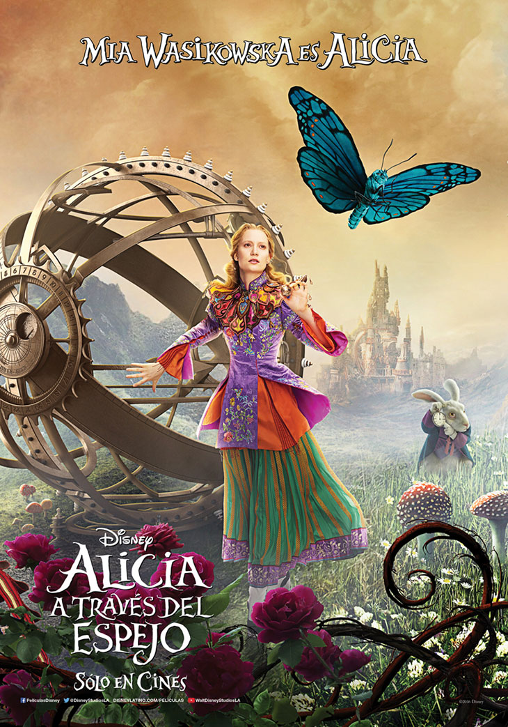 Póster de Alicia a través del espejo