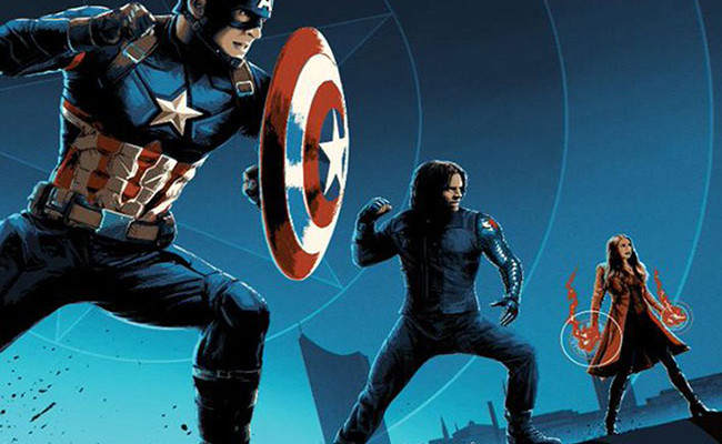 Capitán América: Civil War póster AMC destacada
