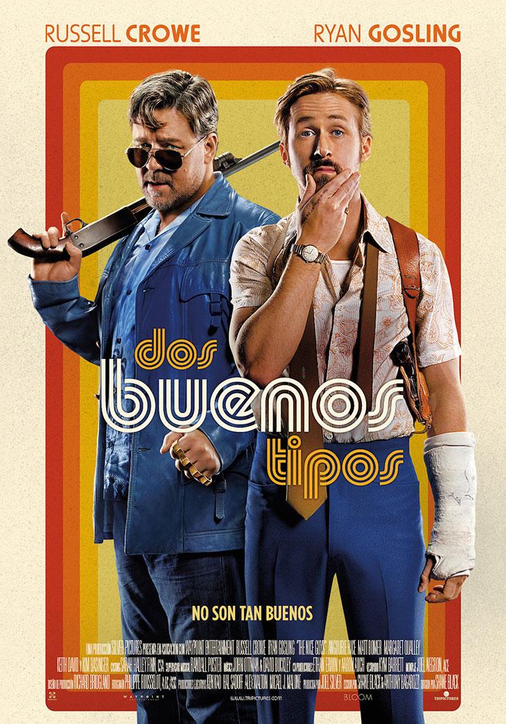 Dos buenos tipos póster en español